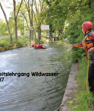 Sicherheitslehrgang Wildwasser 2017 - Ausschreibung