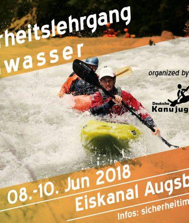 Sicherheitslehrgang Wildwasser 2018
