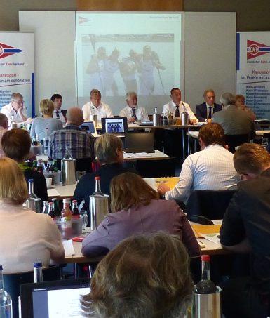 Die Kanujugend auf dem Verbandsausschuss des DKV 2018